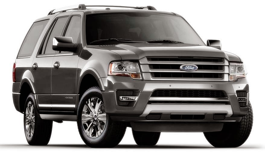 9 passenger vehicles - 2016 Ford Expedition