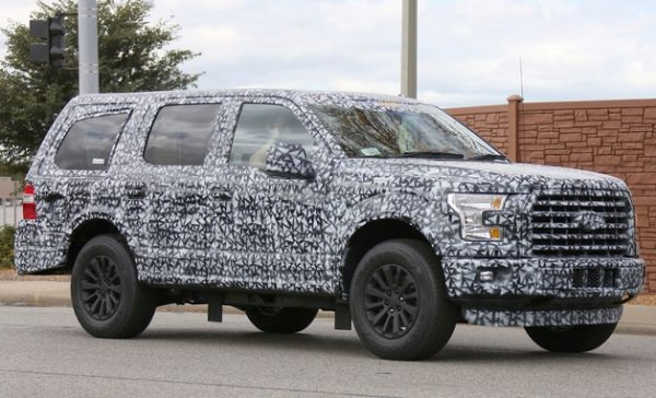 ford expedition spy photo 8 passenger vehicles