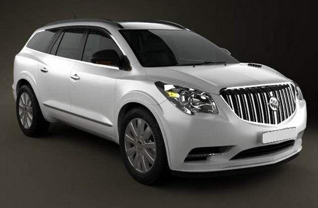 2017 buick enclave facelift best 8 passenger vehicles. Black Bedroom Furniture Sets. Home Design Ideas