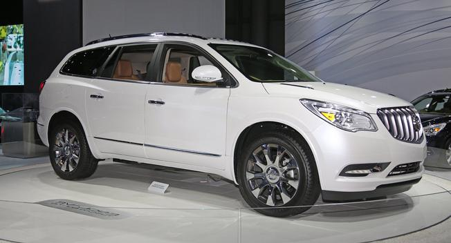 2017-Buick-Enclave redesign