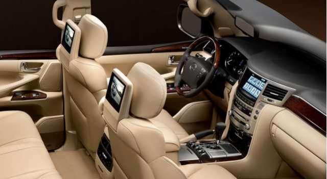 2017 Lexus Lx 570 Redesigned