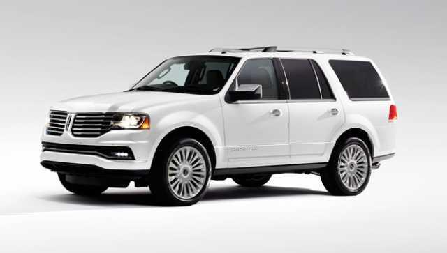 2017 Lincoln Navigator L Redesign