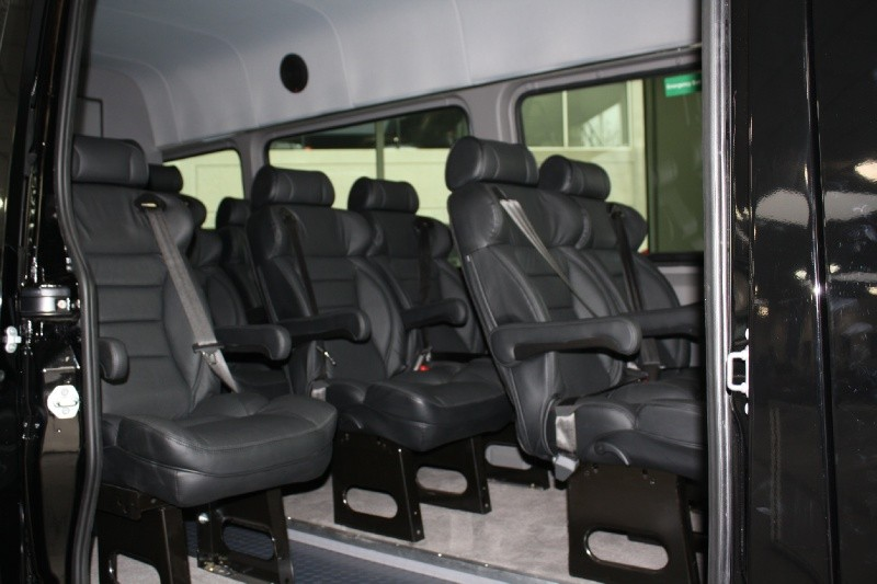 MB-Sprinter 12 leather seats Interior